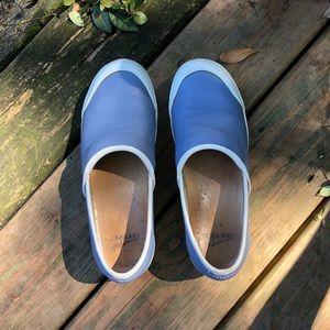 Dansko non-slip professional leather clogs GUC.